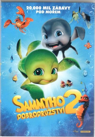 Sammyho dobrodružství 2 ( slim ) DVD