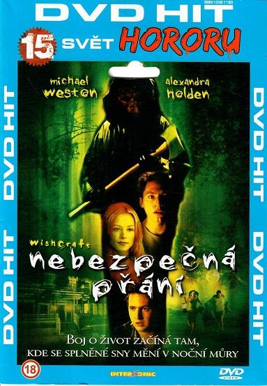 Nebezpečná přání ( pošetka ) DVD