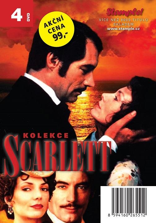 Kolekce Scarlett - 4 DVD