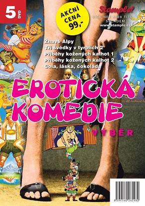 Kolekce erotická komedie - výběr - DVD
