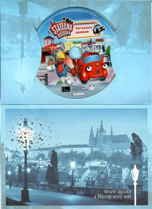 Statečná autíčka - Ztracený poklad ( dárkový papír obal ) - DVD