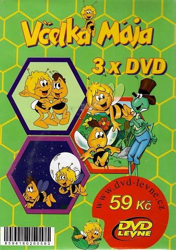 Včelka Mája 3x DVD - zelená