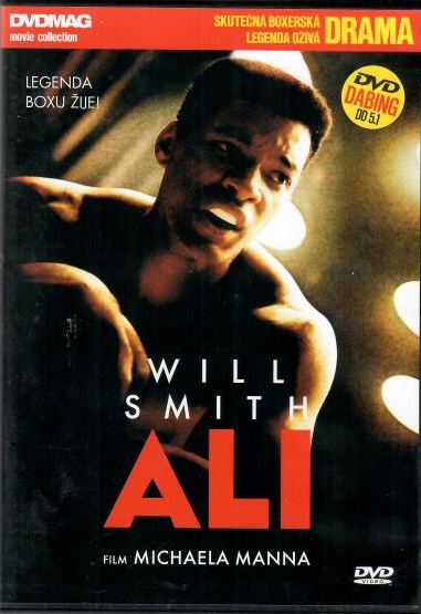 ALI - ( Will Smith) - plast DVD