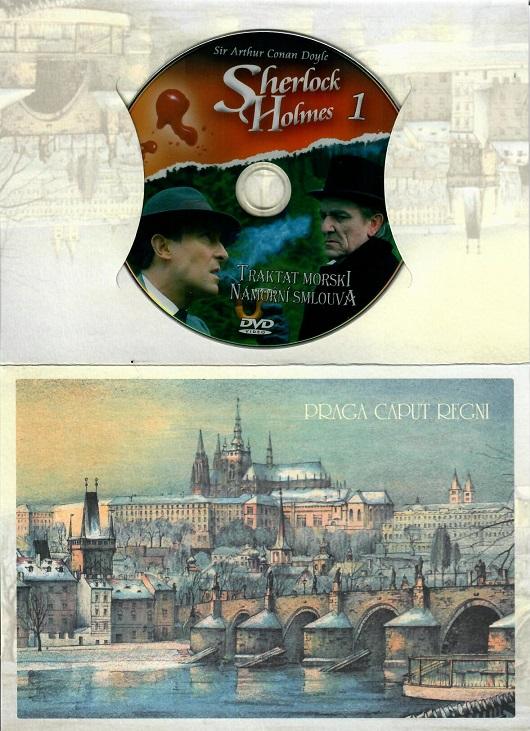 Sherlock Holmes 1 - Námořní smlouva ( dárkový papír obal ) - DVD