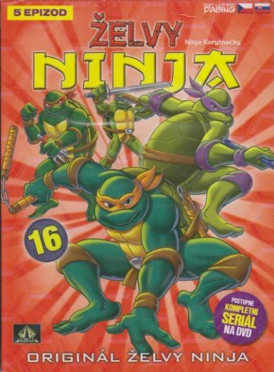 Želvy ninja 16 - VAPET - DVD