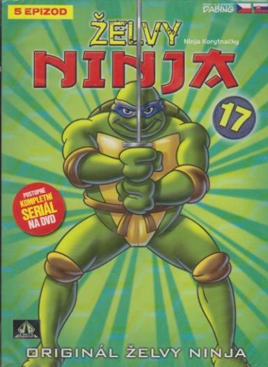 Želvy ninja 17 - VAPET - DVD