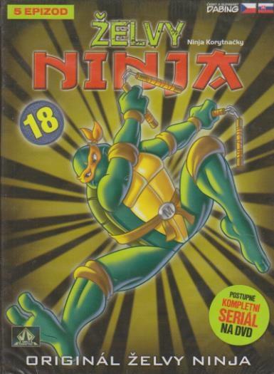 Želvy ninja 18 - VAPET - DVD (bazarové zboží)
