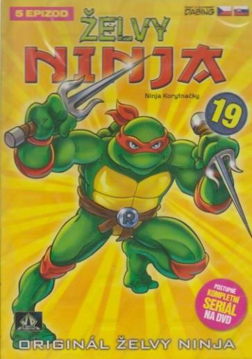 Želvy ninja 19 - VAPET - DVD (bazarové zboží)