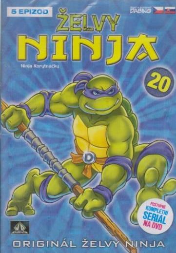 Želvy ninja 20 - VAPET - DVD