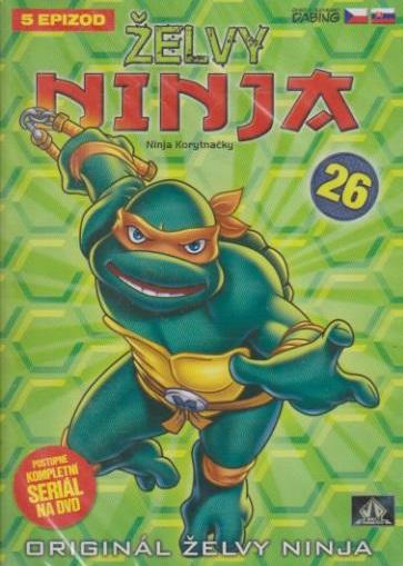 Želvy ninja 26 - VAPET - DVD