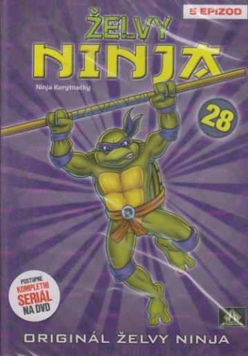 Želvy ninja 28 - VAPET - DVD