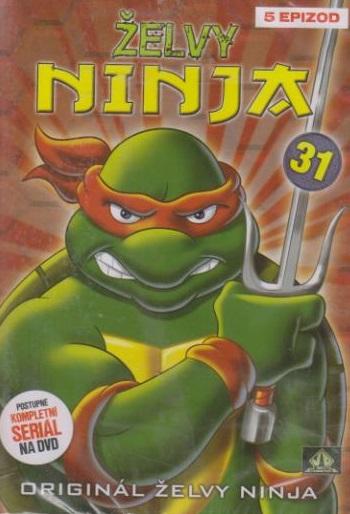 Želvy ninja 31 - VAPET - DVD (bazarové zboží)