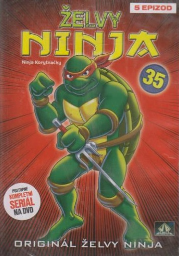Želvy ninja 35 - VAPET - DVD (bazarobé zboží)