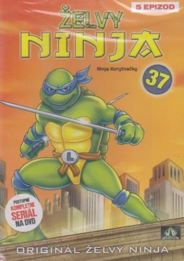 Želvy ninja 37 - VAPET - DVD
