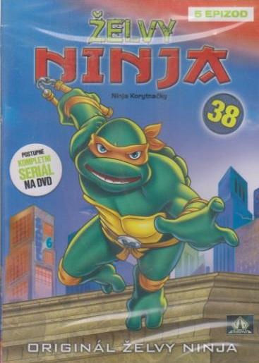 Želvy ninja 38 - VAPET - DVD (bazarové zboží)