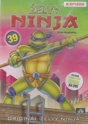 Želvy ninja 39 - VAPET - DVD