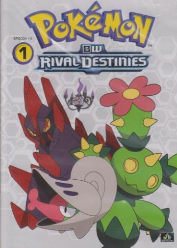 Pokémon : BW rival destinies 01. - 05. díl ( plast ) DVD