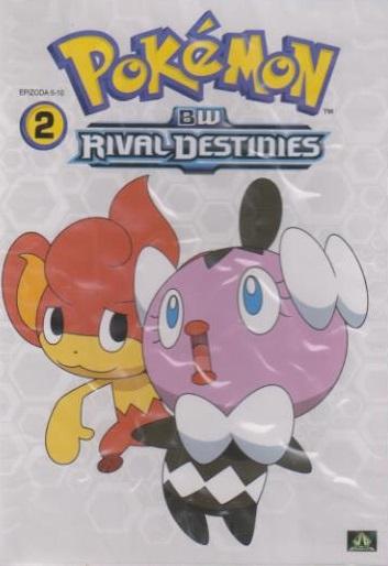 Pokémon : BW rival destinies 06. - 10. díl - DVD