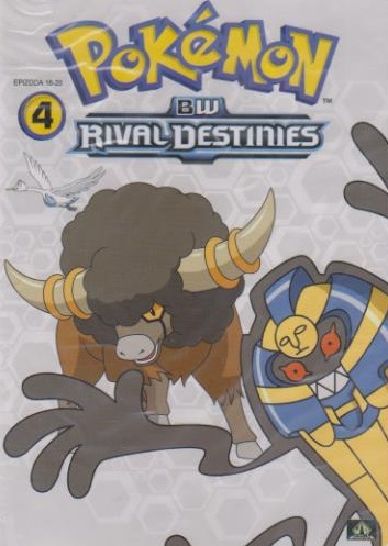 Pokémon : BW rival destinies 16. - 20. díl - DVD
