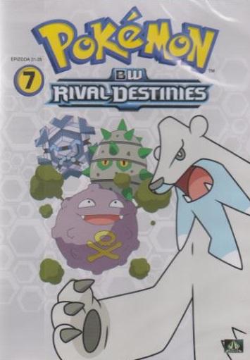 Pokémon : BW rival destinies 31. - 35. díl - DVD