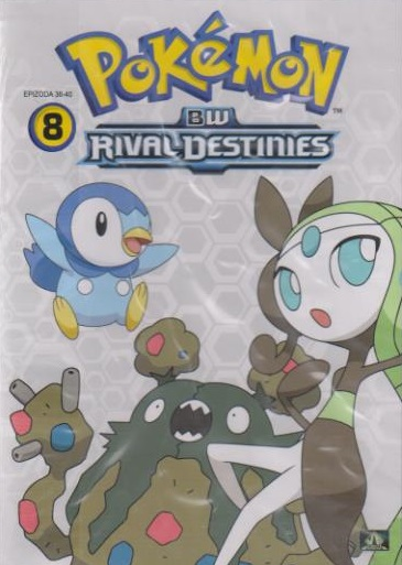 Pokémon : BW rival destinies 36. - 40. díl - DVD