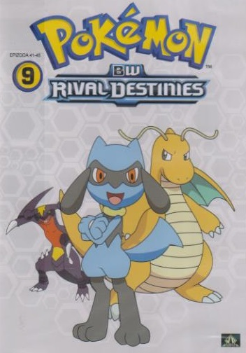 Pokémon : BW rival destinies 41. - 45. díl - DVD