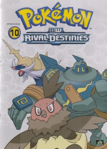 Pokémon : BW rival destinies 46. - 49. díl - DVD