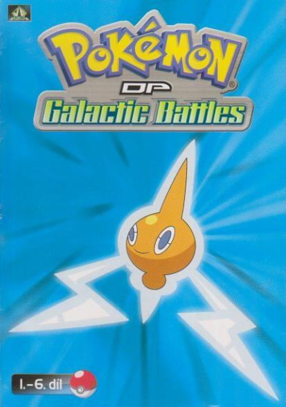 Pokémon : DP galactic battles 1.-6. díl ( pošetka ) DVD