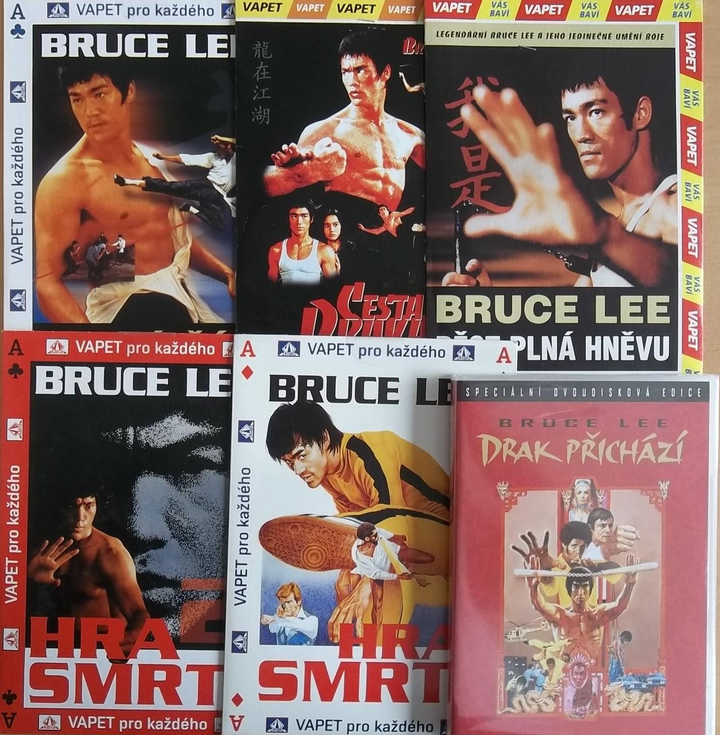 Kolekce Bruce Lee - DVD