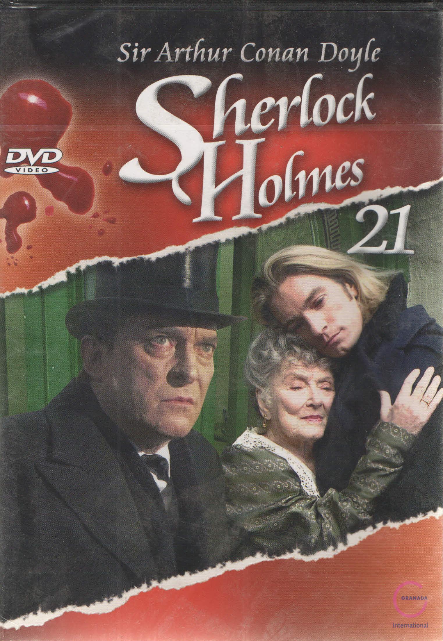 Sherlock Holmes 21 - Dům U tří štítů - DVD