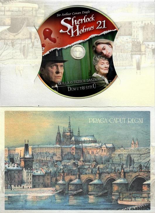 Sherlock Holmes 21 - Dům U tří štítů ( dárkový papír obal praha ) - DVD