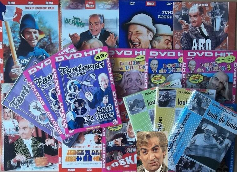 Kolekce Louis de Funes - 17 DVD