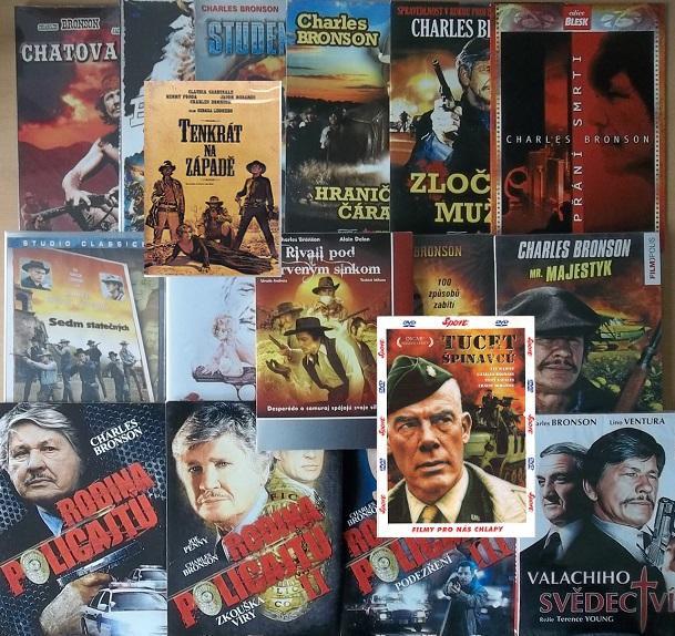 Kolekce Charles Bronson - 18 DVD
