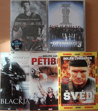 Kolekce Dolph Lundgren - 5 DVD