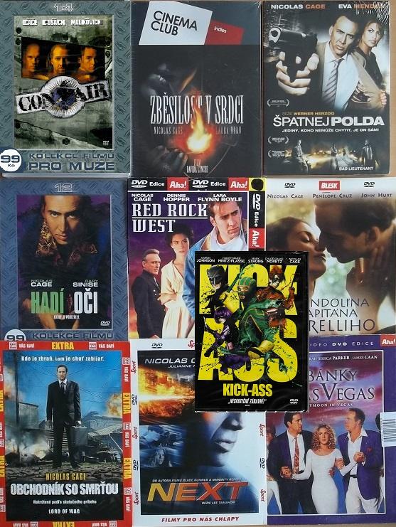 Kolekce Nicolas Cage - 10 DVD