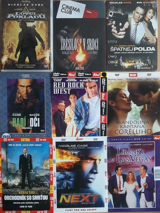 Kolekce Nicolas Cage