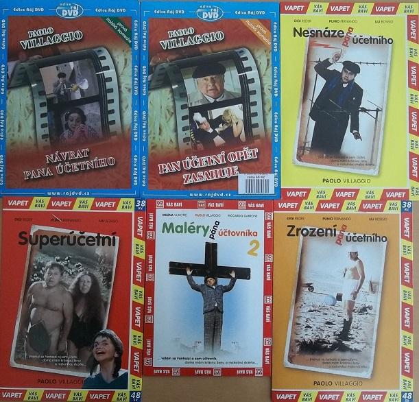 Kolekce Pan účetní - DVD