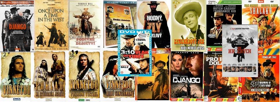 Kolekce nejlepší westerny 18 DVD