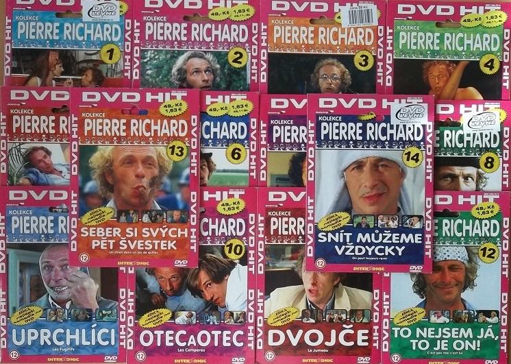 Kolekce Pierre Richard 14DVD