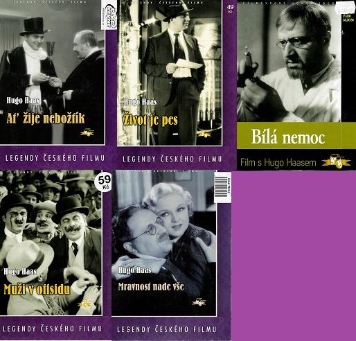 Kolekce Hugo Haas - DVD