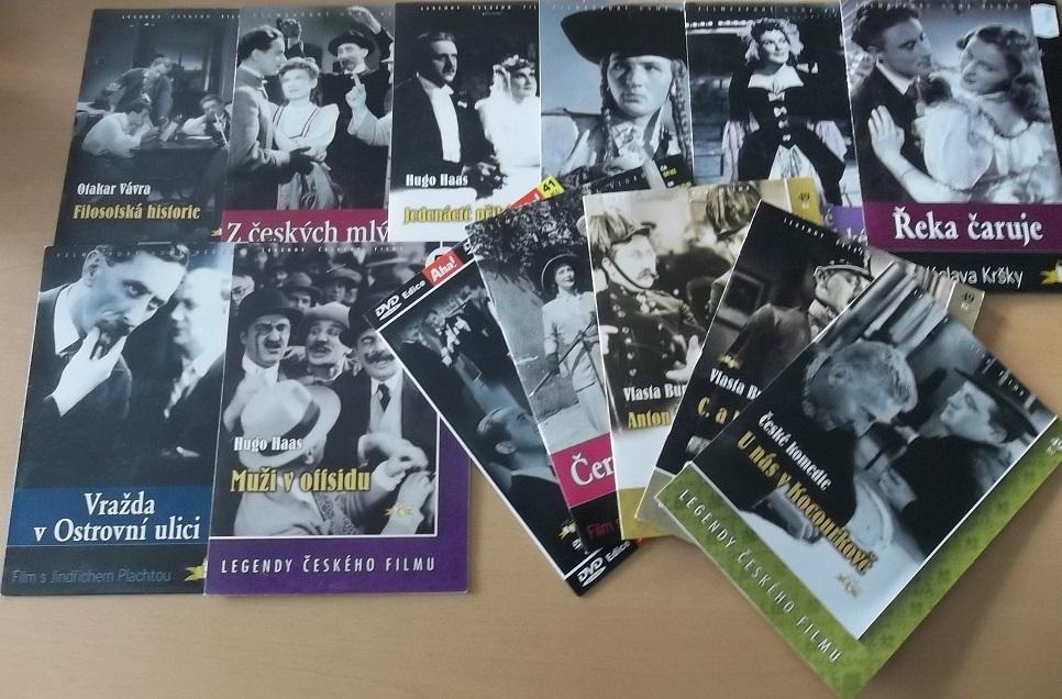 Kolekce Jindřich Plachta - 13 DVD