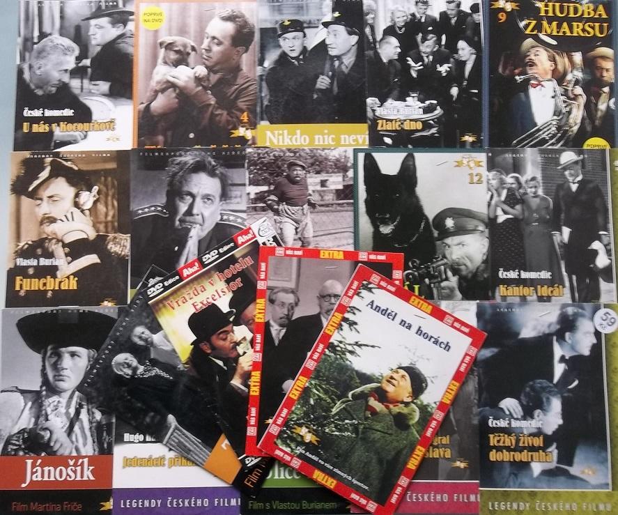 Kolekce Jaroslav Marvan - 21 DVD