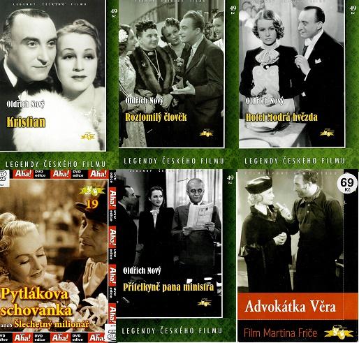 Kolekce Oldřich Nový 6 DVD