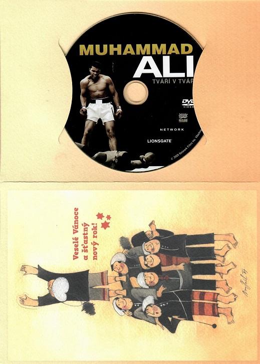 Muhammad Ali - Tváří v tvář ( dárkový papír obal ) - DVD