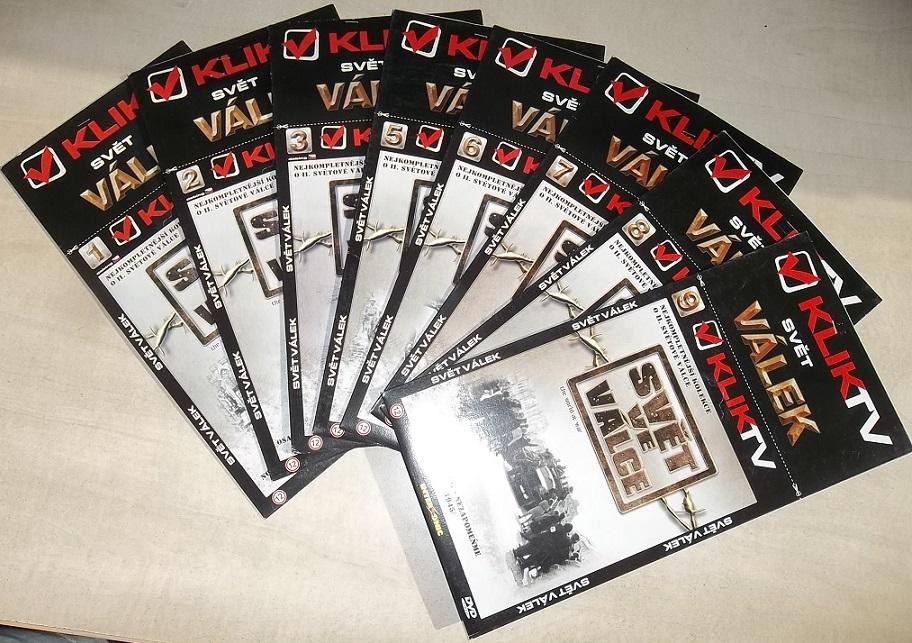 Kolekce Svět ve válce ( nekompletní) - DVD
