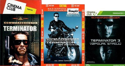 Kolekce Terminator 3 DVD ( nekompletní )