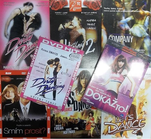 Kolekce Taneční 8 DVD