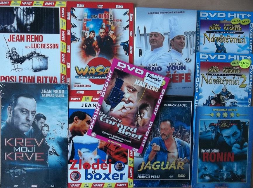 Kolekce Jean Reno - 10 DVD