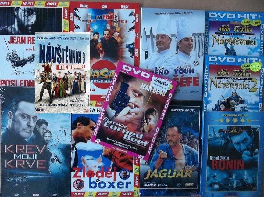 Kolekce Jean Reno - 11 DVD