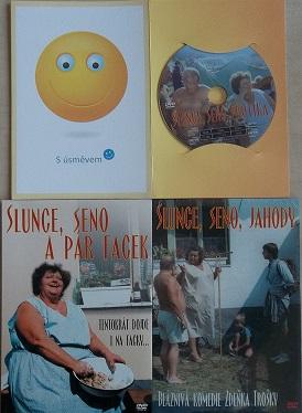 Kolekce Slunce, seno... - DVD